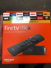 BRAND NEW Amazon Fire TV Stick (3rd Gen) With Alexa Voice Remote - Black