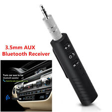 Bluetooth Audio Music Receiver Adapter Wireless Aux 3.5mm Jack Car Kit (Fits: Dodge Shadow)