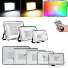 LED Fluter 50W 100W 200W SMD Außen Strahler Scheinwerfer Flutlicht 220V IP67 RGB