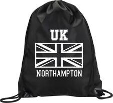 BACKPACK BAG NORTHAMPTON UK UNITED KINGDOM UNION JACK GYM HANDBAG SPORT M1