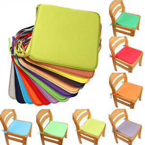 Chair Cushion Seat Pads Dining Cushions Tie On Garden Kitchen Furniture Patio