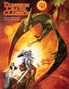 Dungeon Crawl Classics: 2021 Quick Start Rules/2 Adventures D&D 5e Goodman Games
