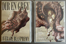 "Dir en grey ""Average blasphemy"" DVD NEW sealed"