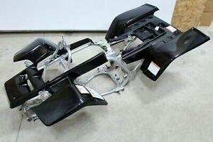 NEW Yamaha Banshee fenders front + rear plastic body 1987-2006 BLACK free ship!