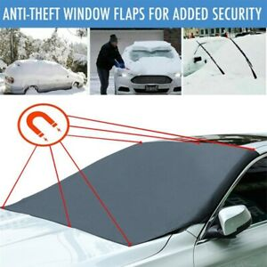 Magnetic Car Front Windscreen Cover Sunshade Windshield Snow Ice Cover