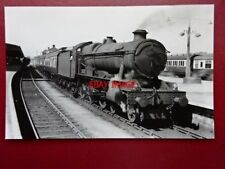 PHOTO  GWR LOCO NO 1011 COUNTY OF CHESTER AT PLYMOUTH 23/5/58