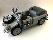 Kubelwagon German World War 2 Complete Set made w/ real LEGO® bricks