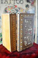Old Inlaid Asian Box… old and battered with loads of character...