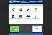 BOATING SUPPLY STORE - AFFILIATE WEBSITE - FREE HOSTING & BLOG PAGES + DOMAIN