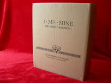 "GEORGE HARRISON "" I ME MINE""DELUXE EXTENDED EDITION GENESIS PUBLICATIONS BEATLES"