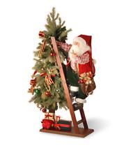 """National Tree Company 42"""" Tree with Climbing Santa"""