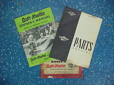 New listing Scott-Atwater Owner's Kit w/ Owner's Manual & Parts Catalog *Vintage* Neat Find!