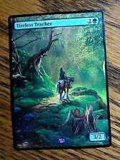 MTG Magic the Gathering Altered art Zelda Tireless Tracker