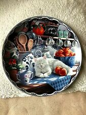 """BRADEX Collectable  Plate """"Mabel's Sunny Retreat""""- Warm County Moments 8"""" VGC"""