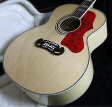2018 Top Quality 43'' Jumbo Electric Acoustic Guitar J200P Solid Spruce Top