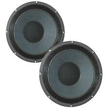"Pair Eminence Legend BP102 10 inch 10"" Bass Guitar Speaker PA Woofer 8 Ohm 200W"