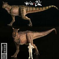 Nanmu 1/35 Carnotaurus Figure Carno Dinosaur Model Dinos Collector Kid Toy Gift