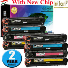 Set of 8 PK CE320A - 23A 128A Color Toner For HP LaserJet Pro CM1415FNW CP1525NW