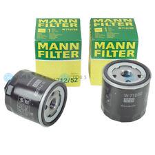 2x MANN FILTER W712/52 ÖLFILTER für AUDI SEAT SKODA VW Benziner 1.0 1.3 1.4 1.6