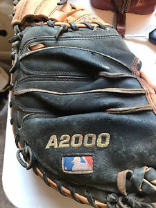 Wilson A2000 Catchers Mitt Pro Stock A2403 Pudge* Nicely Worn