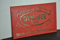 Genesee Beer sign red plastic Rochester, NY
