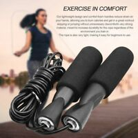 New Aerobic Exercise Boxing Skipping Jump Rope Adjustable Bearing Speed Fitness