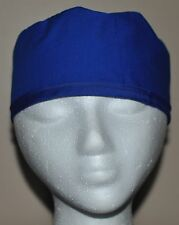 Men's Scrub Cap/Hat Solid Royal Blue - One size fits most