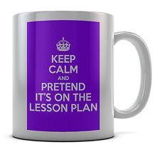 Keep Calm fingendo che sia sulla Lezione piano TAZZA idea regalo presenti Caffè
