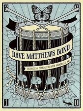 MINT Dave Matthews Band 2010 Mansfield Methane Poster 289/500