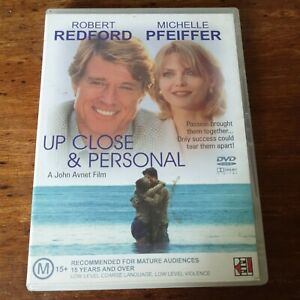 Up Close & Personal DVD Robert Redford  Like New! FREE POST