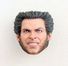 HOT TOYS 2006 X-MEN THE LAST STAND WOLVERINE HUGH JACKSON 1/6 HEAD NEW AUTHENTIC
