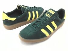 Adidas BERMUDA Shoes Green Suede Yellow Gum Sole Retro B41472 Men's US 11/45 1/3
