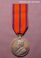 1911 GVR (Police) CORONATION MEDAL TO PRIVATE - St Johns Ambulance Reverse