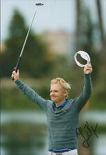 Soren KJELDSEN SIGNED Autograph 12x8 Photo AFTAL COA Finnish Open WINNER Golf