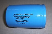 Cornell Dubilier Dcm752M400Fe2E 7,500uF 400Vdc -20%+20% Capacitor - 5 Pcs New