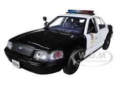 2010 FORD CROWN VICTORIA LAPD LOS ANGELES POLICE DEPARTMENT 1/24 MOTORMAX 76946