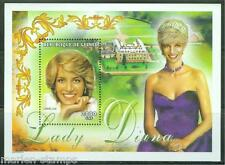 GUINEA  PRINCESS DIANA 2000 fr SOUVENIR SHEET  PERFORATED  MINT NH