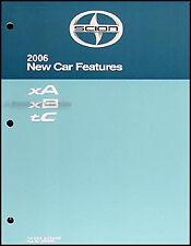 2006 Scion xA xB tC Features Service Training Manual Original OEM Specifications