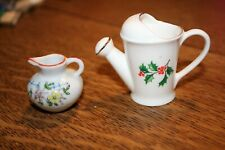 Made in Japan miniature Pitcher and Fine Bone China miniature Water Can