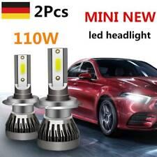 2X H7 LED Scheinwerfer Kit 110W Fern-/Abblendlicht COB 6000K VS Xenon 10000LM DE