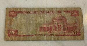 Jamaica 1960 50 Cent Note