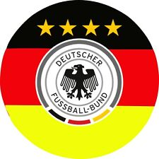 Germany national football team Round STICKER bumper decal car helmet laptop