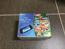 SOLO SCATOLA BOX Sony PlayStation PSP Street Nera Ed. Invizimals Trilogy [LEGGI]