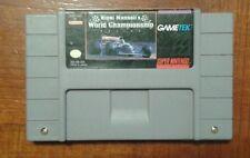 Nigel Mansell's World Championship Racing for SNES Super Nintendo, 1991