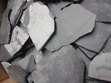 8 kg Schieferbruch 5-15cm Deco Felsen Höhlen Platten Granit Neu Bodengrund