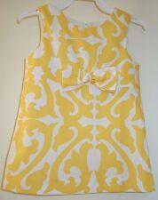 New Kelly's Kids Nikki Yellow Damask Dress Size 18M ~ Pretty