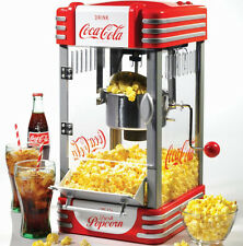 Kettle Popcorn Maker Nostalgia Coca-cola Series Corn Popper Machine Electric