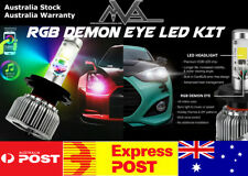 H7 RGB COLOR CHANGING LED HEADLIGHT KIT WIFI PHONE APP CONTROLLER LIGHT