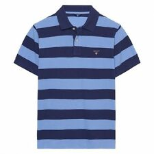GANT Striped Collared Polo Casual Shirts & Tops for Men