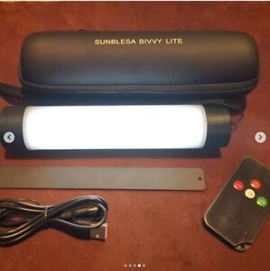 Sunblesa Magnetic Waterproof Rechargeable Carp Remote Control Bivvy Light lite